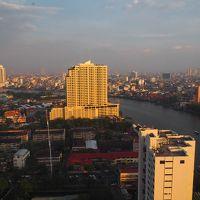 部屋からはバンコク市内が見渡せます