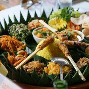 ボリューム満点のインドネシアンリスタフェル
