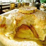 ロッテワールドで世界一のパンケーキ