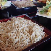 岩手県奥州市。十割蕎麦は、シャリシャリの食感!