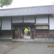 細川家の別邸でした。