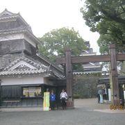 熊本城の西の門です。木戸です。