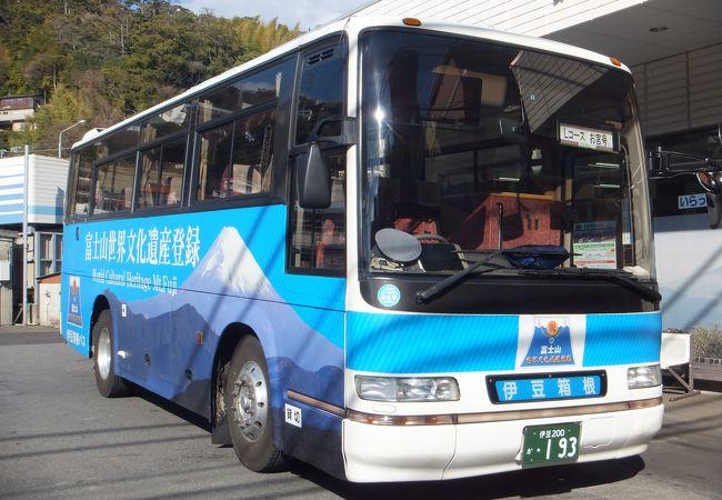 伊豆箱根バス (定期観光バスLコース)