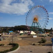 遊園地のある公園