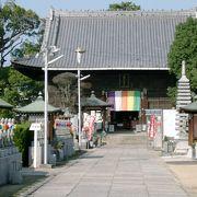 丸亀と多度津の中間地点にお寺はあります