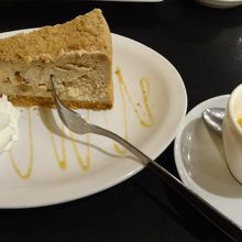 チーズケーキとエスプレッソ