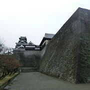 熊本城の見事な石垣『ニ様の石垣』
