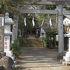 大山街道沿いに位置する安産の神社