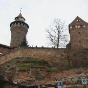 お城からニュルンベルクの街が一望できます