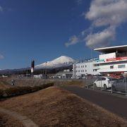 富士山が見えるサーキット