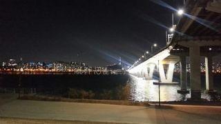 夜景が美しい盤浦漢江公園