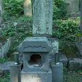 写真:西郷頼母 夫妻の墓 (二十一人の墓)