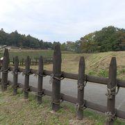 歴史の重さにも、清々しい公園 「鉢形城公園」