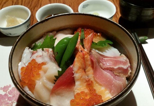 日本と遜色ない日本食が食べられます