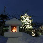 弘前城雪燈籠まつりの注意点