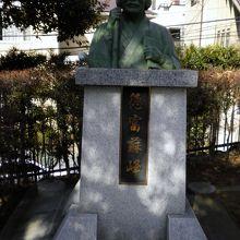 徳富蘇峰像