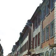 旧市街のメインストリート