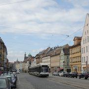 アウグスブルクのメインストリート、見所が幾つもあります