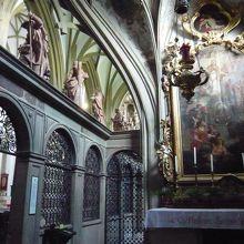 開放されていた小さな礼拝所