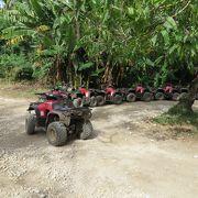 タポチョ山ATVを体験するとハードだけどとても楽しい。