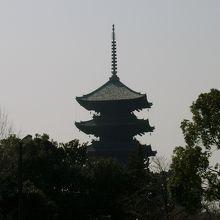 五重塔です