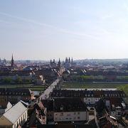 旧市街を見渡す眺望