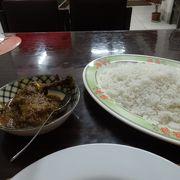 最初の食事