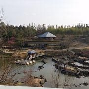 広大な公園には日本庭園もあります。