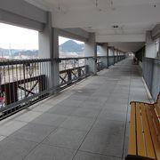 旅客ターミナルだった建物です