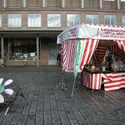 クリスマスマーケットが有名らしい