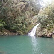 奄美で一番美しいとの評判の滝