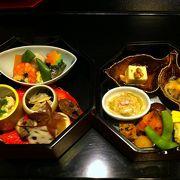 上本町みやこホテルの日本食レストラン。秋のお弁当