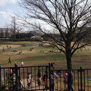 公園内は広く、子連れにはよいと思います。