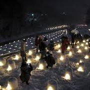 感激!湯西川かまくら祭り