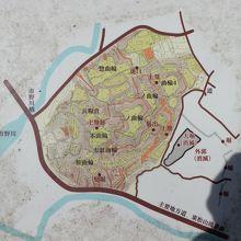 松山城略図