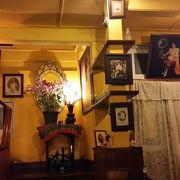 タイの邸宅を改装した素敵なレストラン