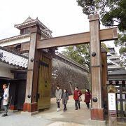 熊本城にしてはちょっと寂しいかな