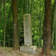 「栗山孝庵女刑屍体腑分之跡」の石碑です。