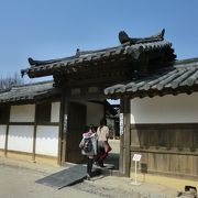 韓国の地主の昔の暮らしがわかります