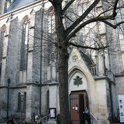 バッハゆかりの教会
