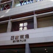 庶民派のショッピングセンター。