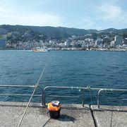 気軽に安心して釣りができる熱海の海釣り施設