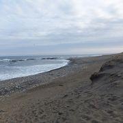 大洗 北側の海岸