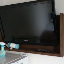 テレビが大きい
