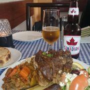 カナダにてギリシャ料理