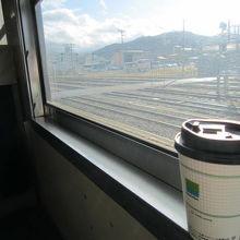 高山駅出発すぐの風景