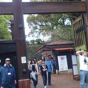 熊本城のメイン入口