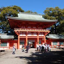 美しい神社です。