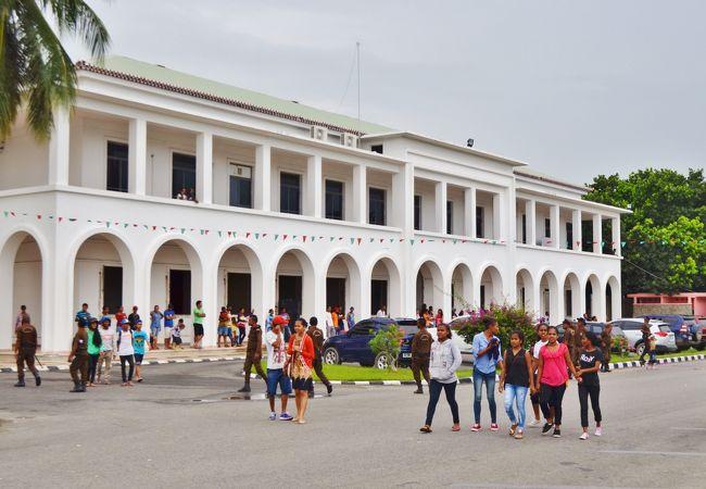 白亜の国会議事堂