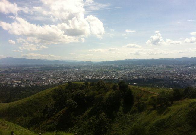 奈良を一望!